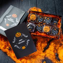 Luxury Halloween Brownie Gift Box (Gluten Free)