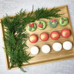 Christmas French Macarons (Box of 12)