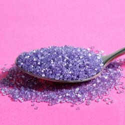 Purple Sparkly Sanding Sugar Cake Sprinkles