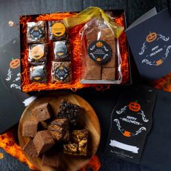 Halloween Gluten Free Brownie & Marshmallows Gift