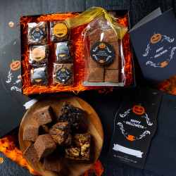 Halloween Brownie and Marshmallows Gift