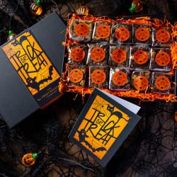 'Halloween Trick or Treat' Gluten Free Indulgent Brownie Gift