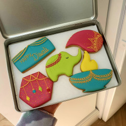 Diwali Biscuit Gift Set