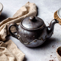 Chocolate Teapot Gift Box - Ultra-Realistic Handmade Chocolate Selection Box