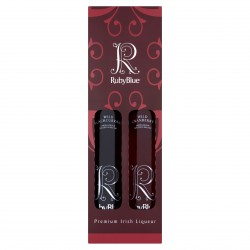 RubyBlue Irish Fruit Liqueur 2 Bottle Gift Pack