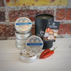 Gourmet Salt Collection (5 Tin Gift)