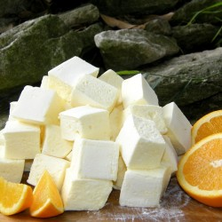 Orange and Passionfruit Artisan Marshmallows