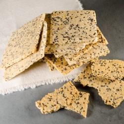Paleo Chia Seed Crackers