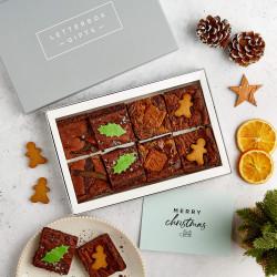 Christmas Letterbox Brownies