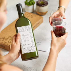 Personalised New Home Letterbox Wine