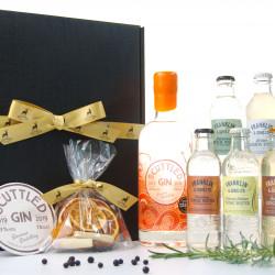 Luxury Scottish Scuttled Gin Hamper