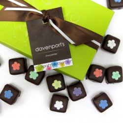 Artisanal Floral Chocolate Collection