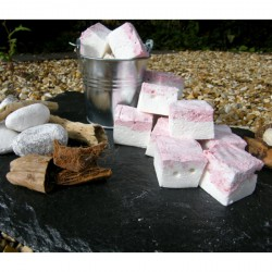 Raspberry Ripple Artisan Marshmallows