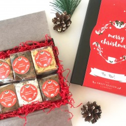 Christmas Luxury Brownie Gift Box (Gluten Free)