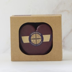 Godminster 400g Heart-Shaped Vintage Organic Cheddar in a Gift Box