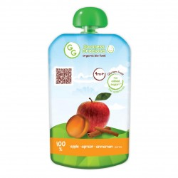 Organic Apple, Apricot & Cinnamon Puree (8 packs)