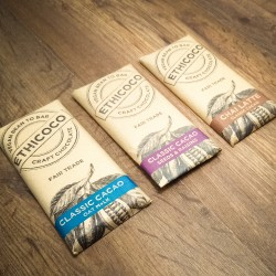 Classic Cacao Vegan Milk Chocolate Bar Set