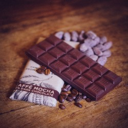 3 Caffe Mocha Vegan Chocolate Bars