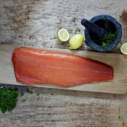 Unsliced Scottish Smoked Salmon Side
