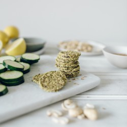 Courgette Crunch Snack Bites