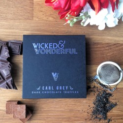 Earl Grey Dark Chocolate Truffles