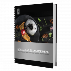 Molecular 50 Course Meal Recipe Book