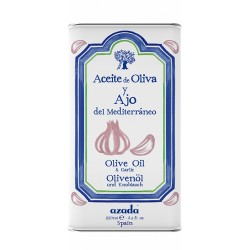 AZADA GARLIC FLAVOURED EXTRA VIRGIN OLIVE OIL 250ML