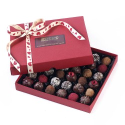 Raw Organic Valentines Chocolate Truffle Box