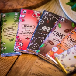 Raw Chocolate Bar Collection - Organic, Fairtrade