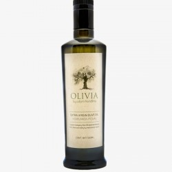 OLIVIA EXTRA VIRGIN OLIVE OIL HOJIBLANCA - PICUAL 500ML BY ADAM HANDLING