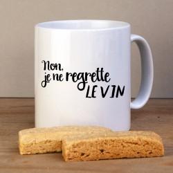 Je ne regrette le vin Mug
