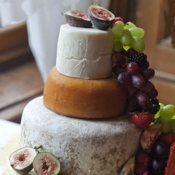 3-Tier Farmhouse Cheese Wedding Cake