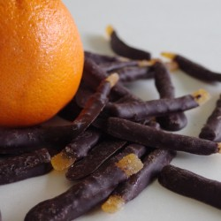 Dark Chocolate Orangettes