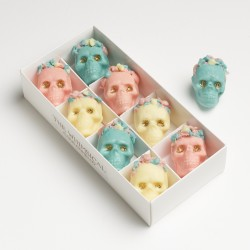 Day Of The Dead Belgian Chocolate Box