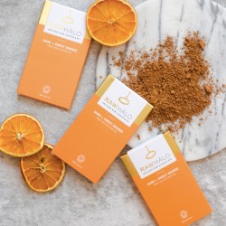 Raw Chocolate Dark + Sweet Orange Bars (3 pack)