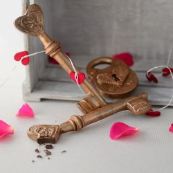 Chocolate Heart Key