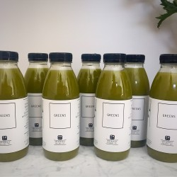 7 Raw Cold Pressed Juices - One Week Supply of Greens
