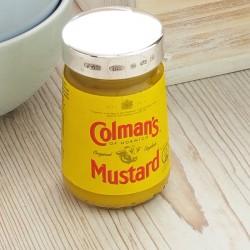 Sterling Silver Mustard Jar Lid