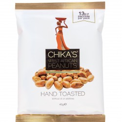 Hand-toasted Peanuts No Skins