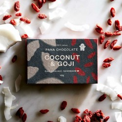 3 Raw Coconut & Goji Chocolate Bars