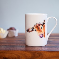 Inky Cow Fine Bone China Mug