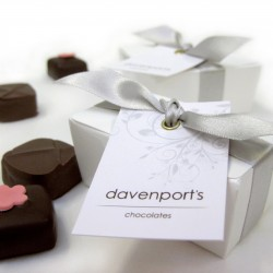 Davenport's Chocolate Wedding Favours