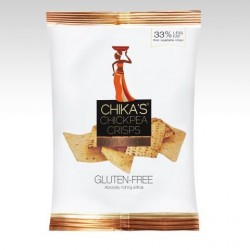 Gluten-free Chickpea Crisps Lightly Spiced