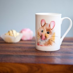 Inky Mouse Fine Bone China Mug