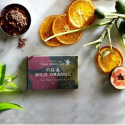 3 Raw Fig & Wild Orange Chocolate Bars