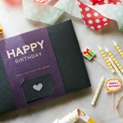 Happy Birthday Organic Chocolate Gift Box