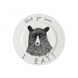 Hungry Bear Side Plate