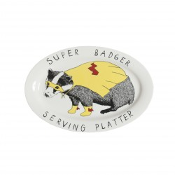 Super Badger Serving Platter