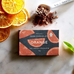 3 Raw Orange Chocolate Bars