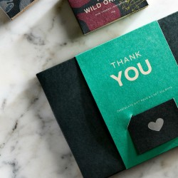 Thank you Organic Chocolate Gift Box